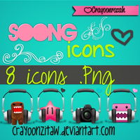 Icons Ssong :B by CrayoonzitAw