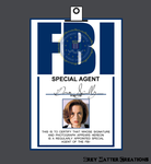 Dana Scully ID Badge Cosplay by greymattercreations3