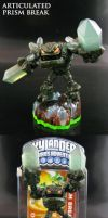 Skylanders Prism Break with joints by Jin-Saotome