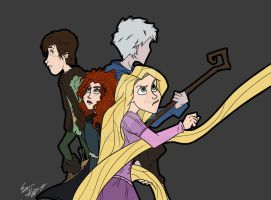 The big four by Julipy