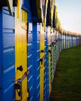 Beach Huts by cocker666