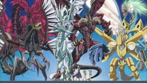 Yu-gi-oh 5Ds Signer Dragons by samethernet