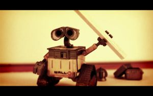 Wall-e Wallpaper by spunkyreal