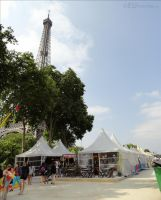 The Eiffel Tower and markets by EUtouring