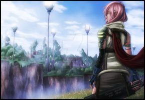 Lightning FFXIII by diabolumberto