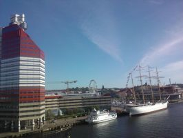 GBG: View from Gotalvbridge2 by ProjektGoteborg