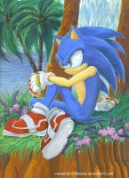 Sonic by RainWaterfallsZone