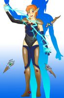 Battle Ready Gilthia by AngelicAdonis