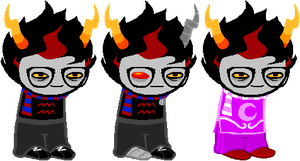 SD - Crimson Eridan AltOutfits by Shadowgate31