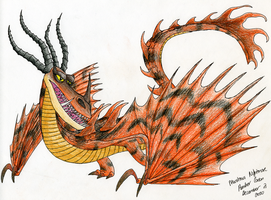HTTYD-Monstrous Nightmare by CavySpirit