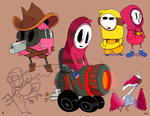 Shy Guys by creatorofall