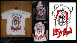 Last View Bear Merch by the-a-line
