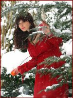 Red Dress 15 by Kuoma-stock