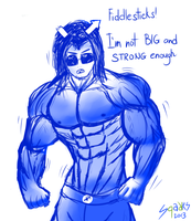 Day 2: Buffstuck! Equius by SinewyPendels