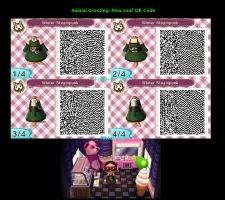 QR Code: Winter Steampunk|Animal Crossing New Leaf by SweetBlackSakura