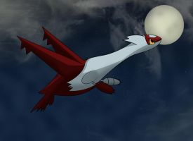 Latias is searching... by Resistance-Of-Faith