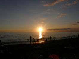 Sunset on the beach 2010 by ZeroGravitation12345
