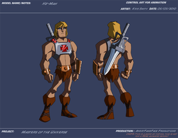 AP He-Man by KrisSmithDW