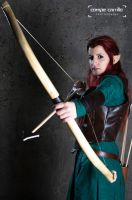 Tauriel - The hobbit- The Desolation of Smaug by VeroEs