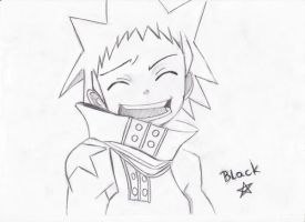 Black star by KuroNoXing