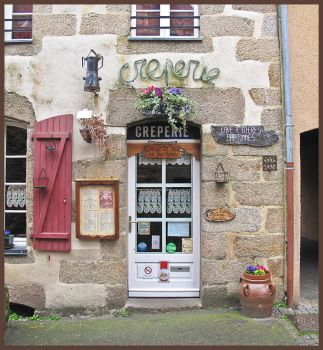 Creperie. Redon. France. by sags