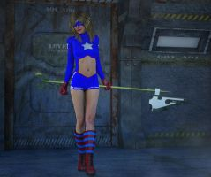 Stargirl 2nd skin textures fo V4 by hiram67