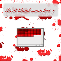 real blood swatches 1 by feniksas4
