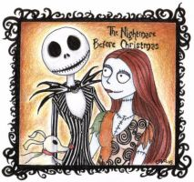The nightmare before christmas by kiti83