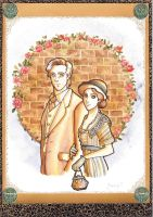 Downton Abbey: Mary and Matthew by Teodora85