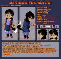 DBZ _FC_Budokai_Cauliday_Sheet by Palmtop-Peanut