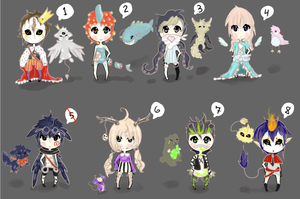 Adopts (closed) by FriendIsHere