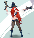 Miss fortune by Kazzly