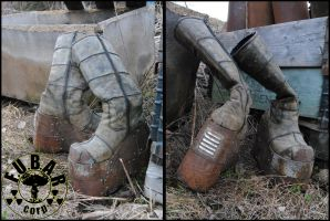 Megaton Settler Boots by Zaxnot