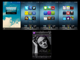 My Ipod Mix Setup theme by KimJinJin