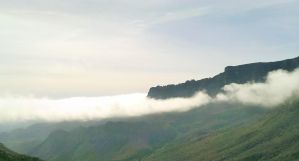 Misty Mountains - Big Bend, TX by my-dog-corky