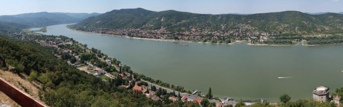 Duna from Visegrad by juanmah