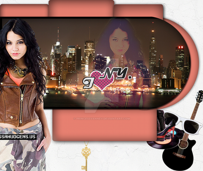Vanessa Layout. by PrincessVanney