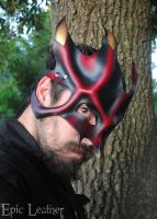 Mark III Great Dragon Mask by Epic-Leather
