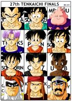 my 27th Tenkaichi finalists by BK-81