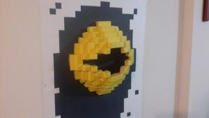 installation art (pacman) by sungho7061