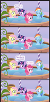 Comic Block: Bubbles in the Tub (Redux) by dm29