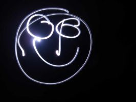 Light Paint Smile Face by mihaisk
