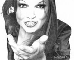 Tarja Turunen by d00mg1rl