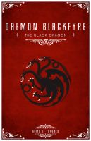 Daemon Blackfyre Personal Sigil by LiquidSoulDesign