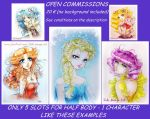 OPEN COMMISSIONS by Suki-Manga