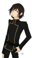 Lelouch Lamperuge - colored by isakimiisa