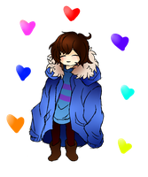 Frisk (UT) by Amelia-Redoxes