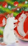 Xmas ratty doodle 1 by ratofthelab
