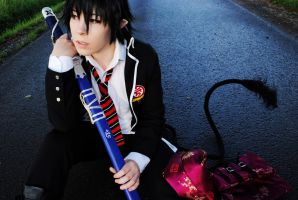 Ao no Exorcist - After rain by Majin-sama