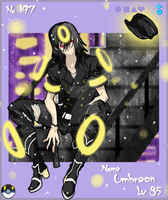 PKMN Gijinka No.197- Umbreon by Inucat